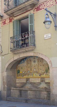 Font de Portaferrissa, Barcelona