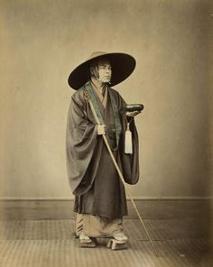 Image result for Japanese monk with begging bowl and single grain of rice