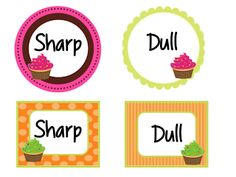 Cupcake theme now available! Classroom Decor & More