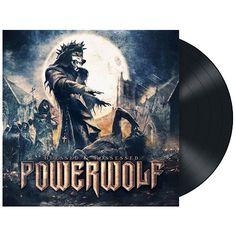 """L'album dei #Powerwolf intitolato """"Blessed & Possessed"""" su vinile nero."""
