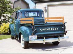 1953 Chevrolet 3100 Five-Window Pickup Best Pickup Truck, Vintage Pickup Trucks, Classic Pickup Trucks, Antique Trucks, Pickup Camper, Jeep Pickup, Antique Cars, Truck Storage, Chevrolet Trucks