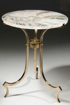 This Edwin Table by John Lyle Design is stunning!