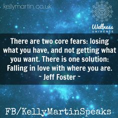 Reminds me of the core fears, the fear dance, etc found in the book Relationship DNA.