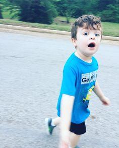 Running man...errr boy  #mysweetbabyboy