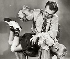 kids still got spankings back in the day....
