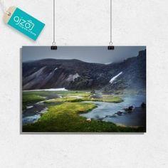 Plakat Urokliwy krajobraz na ścianę 100x70cm