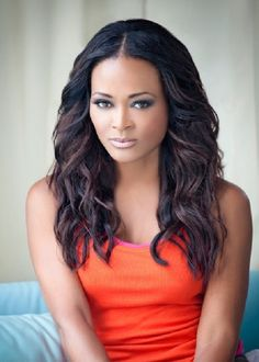 Robin Givens, love her hair and makeup