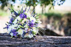 Výsledek obrázku pro svatební kytice levandule