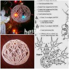 Christmas Crochet Patterns, Crochet Christmas Ornaments, Holiday Crochet, Christmas Baubles, Holiday Ornaments, Christmas Crafts, Christmas Decorations, Crochet Snowflake Pattern, Crochet Snowflakes