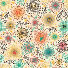 Papel de Parede Floral 1548