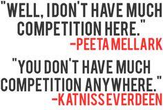 peeta + katniss