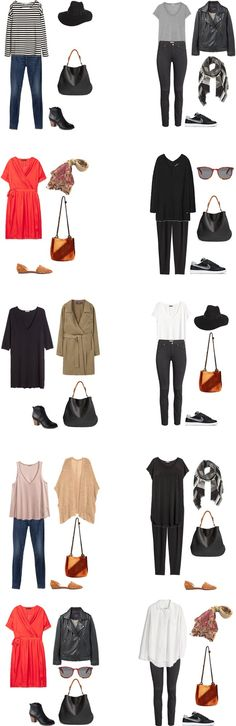 What to Wear in Italy Outfit Options 1-10 #travellight #travel #packinglight…