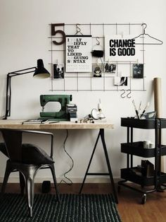 Change is good | Work space