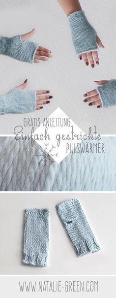 84 besten Stricken - Handschuhe, Stulpen und Pulswärmer Bilder auf ...