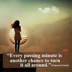 Every passing minute - Vanilla Sky Quote