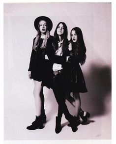 HAIM // love their style and they were badass live at guthrie
