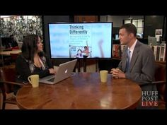 """Eye To Eye CEO David Flink, author of """"Thinking Differently"""" on HuffPost Live. Discussing how parents of kids with learning disabilities can become their children's best advocates."""