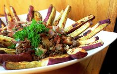 Triple Meat Poutine - Paleo, AIP, and 21DSD Grazedandenthused.com