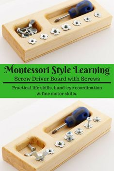 My son would sit for hours with this. He loves playing with real tools like his daddy. #kids #ad #montessori