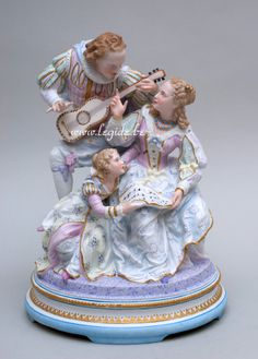 French bisque porcelain