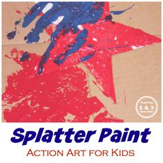 Action Art Activities - Teaching 2 and 3 Year Olds