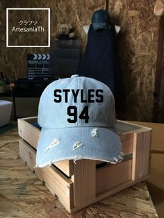 Harry Styles Baseball Cap, Denim Cap, Jean Cap, Low-Profile Baseball Cap Baseball Hat