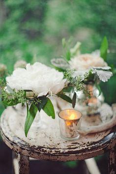 romantic + rustic // photo by The Nichols // View more: http://ruffledblog.com/surprise-texas-wedding/