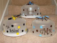 Personalized: Cake Carriers... can't wait for my silhouette to get here
