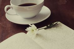 Coffee and book...what more do you need?