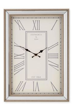 Buy Beaded Mirror Wall Clock from the Next UK online shop