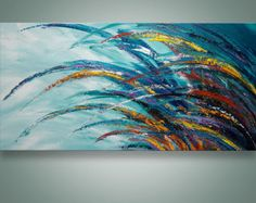 Abstract Painting Palette Knife Painting Abstract Wall von Catalin