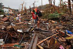 بتيل الصور Bateel Pictures: Aftermath of Typhoon Haiyan صور ما بعد إعصار الفلبين