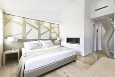 """#Hotel #Cadelach """"betulla"""" room. The Cadelach Forest rooms: 8 rooms which draw their inspiration directly from nature and the four elements. Project by #DanieleMenichini"""