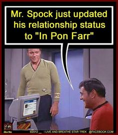If Spock had Facebook...