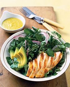 Read Whole Living's Chicken-and-Mango Salad recipe. Also find healthy breakfast, lunch, snack, dinner & dessert recipes, plus heart healthy food & weight loss recipe ideas at WholeLiving.com.