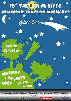 Affiche 10ème salon du livre - créée par Cilette