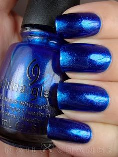 """China Glaze """"Blue Year's Eve"""" (Let It Snow Collection)"""