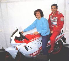Ayrton Senna & Alain Prost. Friends & Enemies!