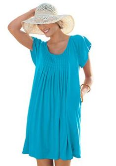 Cover-up for swimsuit by Swim365® Plus Size Swimsuit Cover-ups from #womanwithin