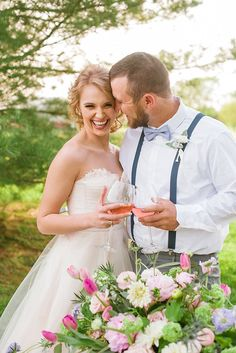 Backyard Canoe Wedding Inspiration Featured On Midwest Bride