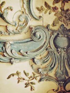 30 OFF Paris Creamy Blue Lace Versailles Marie by happeemonkee