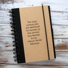 Graduation Gift Journal Notebook Emerson Blank Book Zany 32