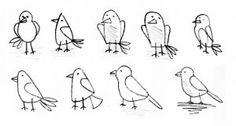 Kids Love Holidays: Draw a Bird Day