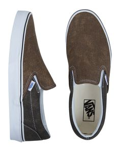 Vans Classic Slip On - Washed 2 Tone.