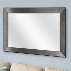 You'll love the Pewter Beveled Wall Mirror at Wayfair - Great Deals on all Décor  products with Free Shipping on most stuff, even the big stuff.