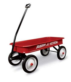 This Christmas, let the next generation enjoy the Classic Radio Flyer Wagon!