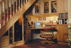 Under stairs storage space and shelf ideas to maximize your interiors in style