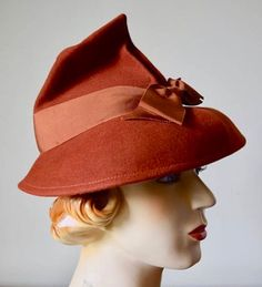 1930s Fashion, Vintage Fashion, 1930s Hats, Vintage Dresses, Vintage Outfits, Historical Hairstyles, Vintage Accessories, Costume Accessories, Vintage Ladies