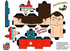 CubeeCraft the big bang theory - Buscar con Google