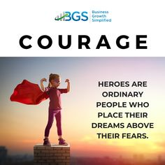 Do you face your #fears in #growing you #smallbusiness or avoid them? It could mean the difference between being #hero or zero. Learn to push past it…
